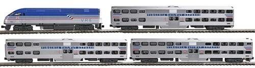 106-8705 NUOVO Kato Set Virginia Railway LOK 3 carri