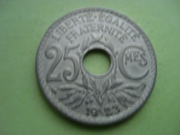 25 Centimes Lindauer 1923 Ttb (d39) Port Gratuit ModéLisation Durable