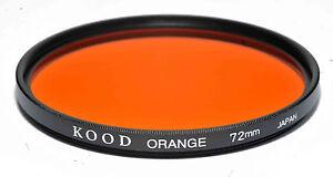 Kood-Arancione-Filtro-Fatto-IN-Giappone-72mm