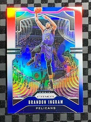 Brandon Ingram Panini Silver Prizm #241 2019-20
