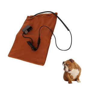 New Cold Winter Pet Dog Cat Reptile Rabbit Safe Heated