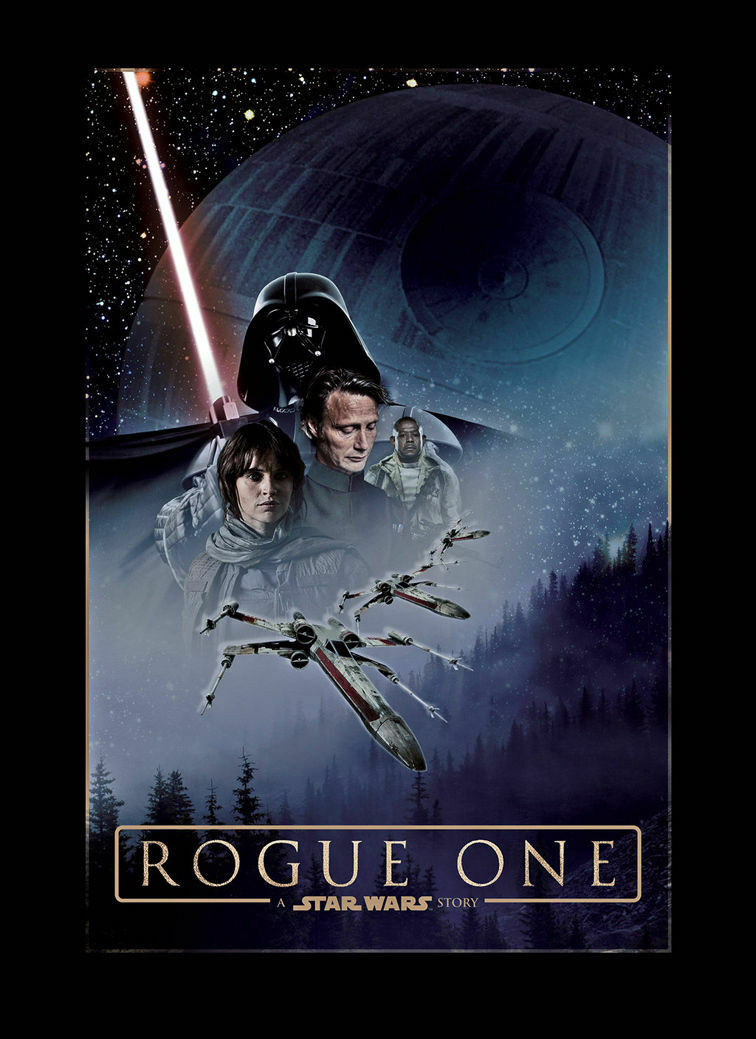 154883 Rogue One A Star Wars Story Art Wall Poster Print AU