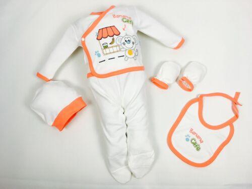 | 56//62 0-4 Monate ♥ Neu ♥ Babykleidung |5-teilig| Erstausstattung |Gr