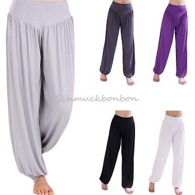 Pump Aladin Hose Harem pants pantalon goa ethno hippie indien inde Jumpsuit Yoga
