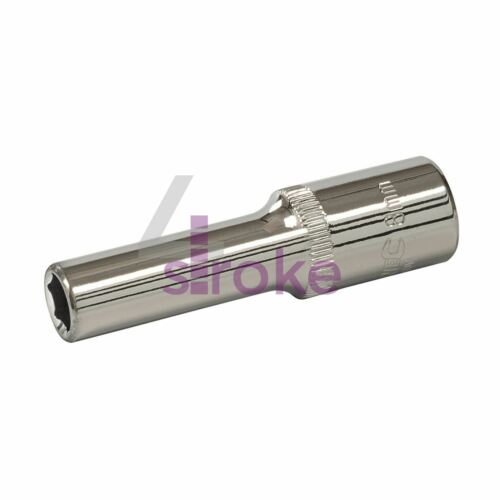 "Deep Socket 3//8/"" Drive 6pt Metric 6 Point Hex Corrotion Resistant Socket 8mm"