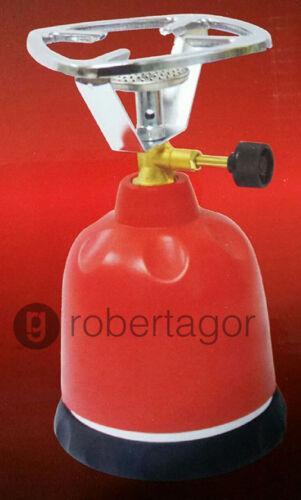 FORNELLO CAMPING PORTATILE GAS BUTANO CUCINA CAMPEGGIO CARTUCCE 190 GR MONTAGNA