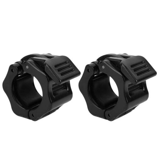 2x Sport 25//28//30mm Spinlock Collars Barbell Dumbell Clips Clamp Weight Bar Lock