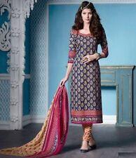 Elegant Cotton Printed Unstitched Dress Material Salwar Suit D.No SU3323