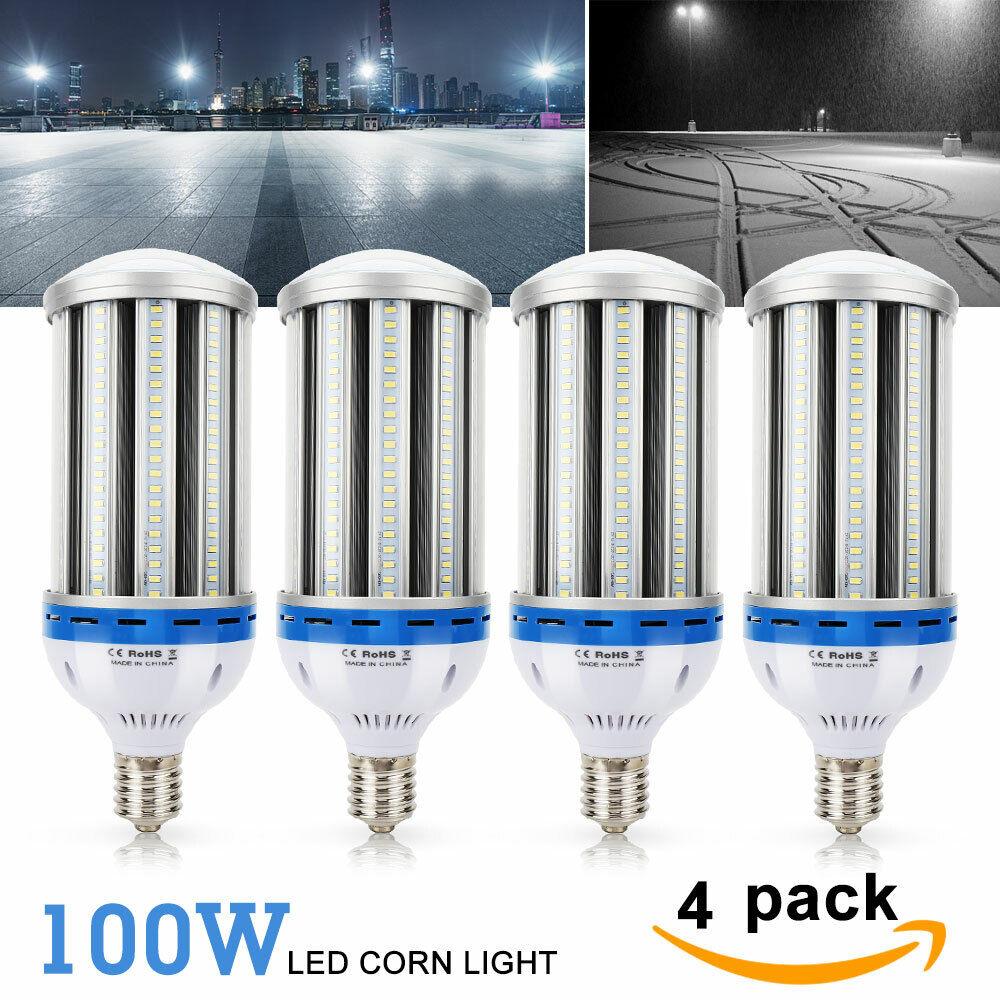 100W E40 E39 LED Mais Licht Lampe Leuchtmittel Glühbirne Glühlampe 9600LM Weiß