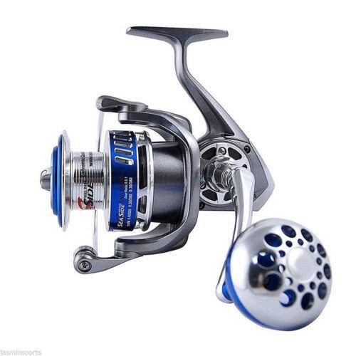 MX 4000-7000 Spinning Reel High Speed Fishing Reels 12+1 Ball Bearing Saltwater
