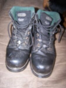 Texas Steer Steel Toe Safety Work Boots