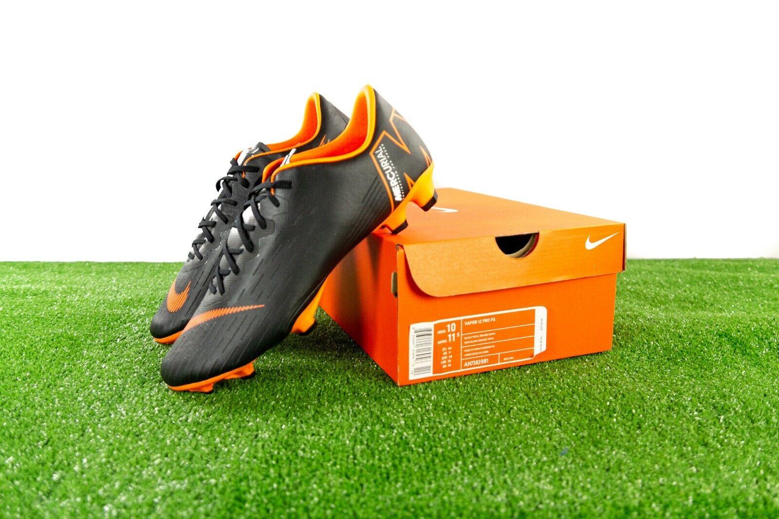 5327497dd Nike Mercurial Vapor 12 Pro FG Soccer Cleat Ah7382 081 Size 9.5 ...