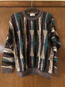 NEU-80-039-s-Vintage-Protege-Collection-Herren-COOGI-Style-Pullover-Bill-Cosby-haessliche-kleine