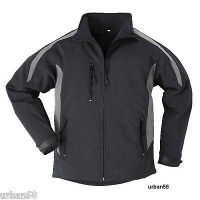 Kleidung Sporting Softshelljacke Übergangsjacke Schwarz/grau Herbst Arbeit Freizeit Jacke Gr S L Agreeable Sweetness