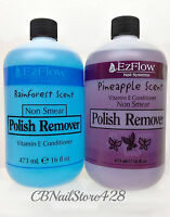 Ezflow Nail Systems- Nail Polish Remover 16fl.oz/473ml -choose Your Scent