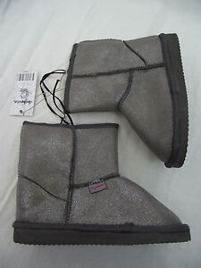 BNWT Little Girls Sz 5 Rivers Doghouse Brand Stone Western Style Ankle Boots