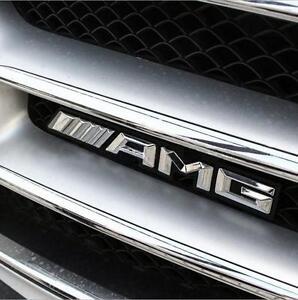 AMG-Parachoques-Delantero-Parrilla-Rejilla-emblemas-insignia-para-Mercedes-Benz-G63-G65-G55-G500