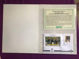 FOLDER-1996-JUVENTUS-CHAMPIONS-LEAGUE-1995-1996-CERTIFICATO-BOLAFFI