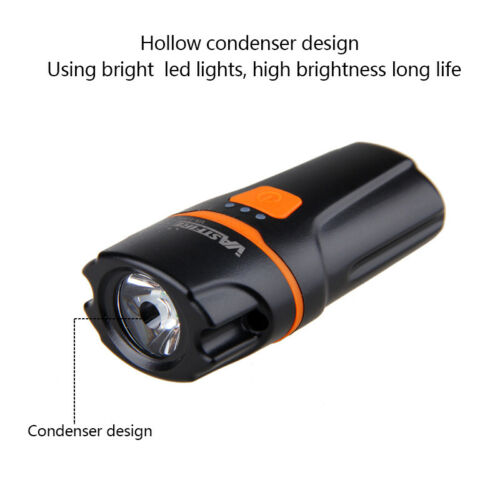2PCS Rechargeable 5000LM XPE LED USB Front Bicycle Light Bike Headlight Battery
