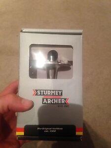 Sturmey Archer Front Hub 36H 100mm Axle Silver