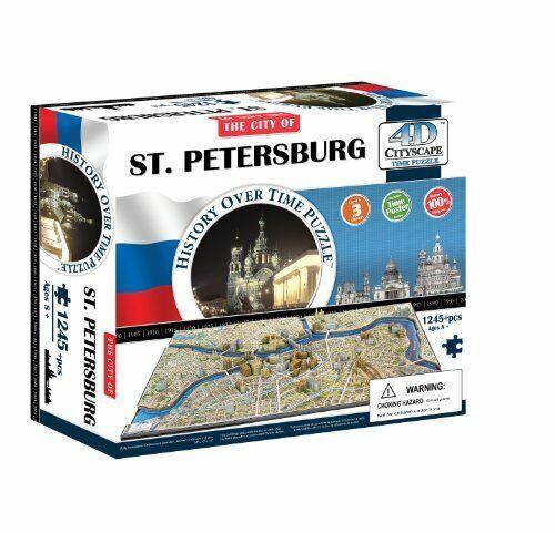 4D Cityscape Time Puzzle 1245 piezas de San Petersburgo 40036 genuinef S