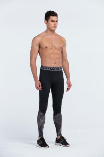 Herren Kompressionsstrumpfhose Workout Training Gamaschen Joggen Fitness