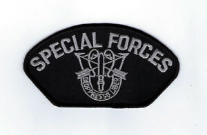 """U.S MILITARY ARMY SPECIAL FORCES HAT ARM PATCH 3/"""" X 2 3//4 /"""" INCHES DE OPRESSO"""