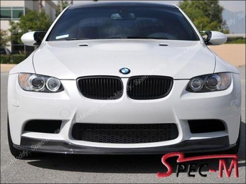 2008-2013 E90 E92 E93 BMW M3 AK1 CARBON FIBER FRONT LIP SPOILER