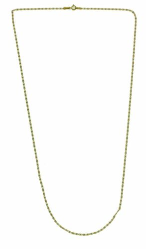 NEW 14k Solid Gold 3 Color Multi Tone Star Stamped Valentino Chain 1.4 mm Wide