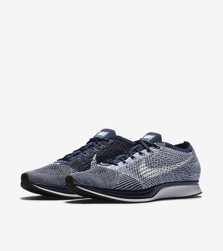 Inviare sensibilità dissotterrare  Nike Flyknit Racer Blue Tint White Bluecap Mens 13 Womens 14.5 862713 401 for  sale online   eBay