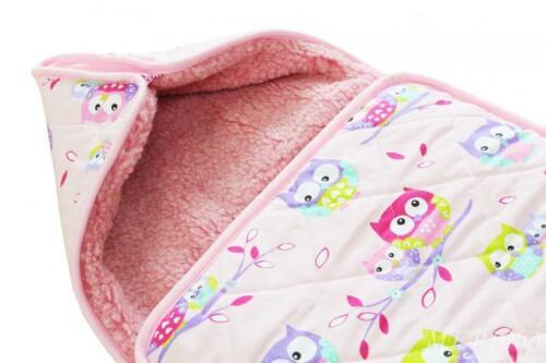Kinderwagen Schlafsack für Baby aus 100/% Merino Wolle