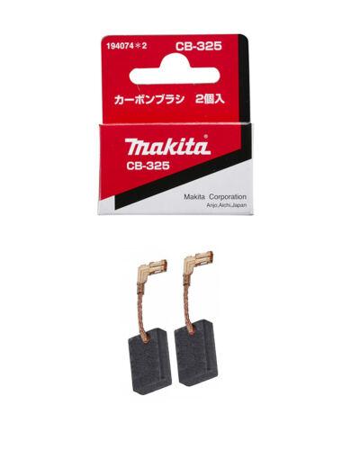 Spazzole CB-325 per MAKITA 9556-9557 carboncini originali 9558