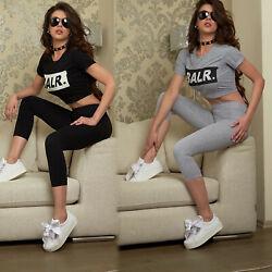 By Alina 2-Teiler Freizeitanzug Hausanzug Shirt Trainingsanzug Hose 34-38 #B671