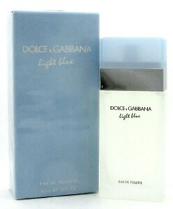 Light-Blue-Perfume-Dolce-amp-Gabbana-1-6-oz-Eau-de-Toilette-Spray-Women-NEW