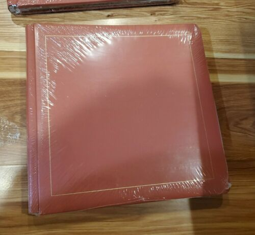 Creative Memories 12 x 12 canyon red album coverset Old Style