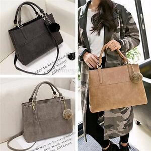 Fashion-Women-Handbag-Shoulder-Bag-Messenger-Tote-Ladies-Leather-Purse-Satchel
