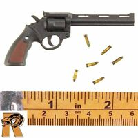 Jonah Hex Cowboy - Revolver W/ 6 Metal Bullets - 1/6 Scale - Bbk Action Figures