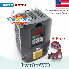 In Ushuanyang 3 Kw 220v 4hp 13a Variable Frequency Drive Spindle Speed Control