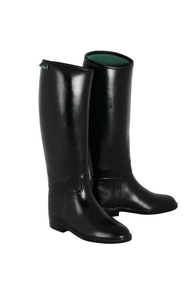 Dublin Wouomo Universal Tall Riding stivali Waterproof Rubber Breathable Lining