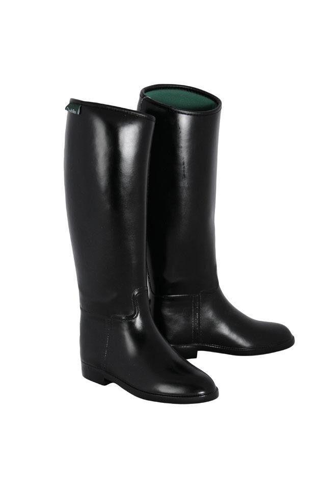 Dublin Mujer Alto botas De Montar  Impermeable de Goma Universal Forro transpirable  primera vez respuesta