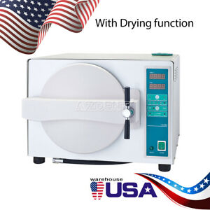 Dental-Automatic-Autoclave-Steam-Sterilizer-Drying-Medical-Sterilizition-18L-USA