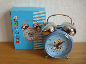 SPIRIT-Alarm-clock-reveil-034-I-hate-morning-034-Vintage-Rare