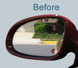 Blind Spot Mirror Glass Replacement For Vw Tiguan 2009