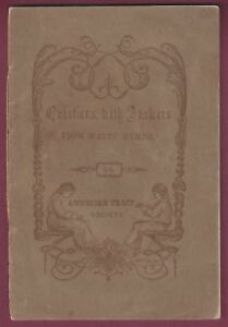 """"""" Questions avec Réponses à partir de Watts Hymns """"-Américain Tract Haute LjVbdKFt-09165420-189142721"""