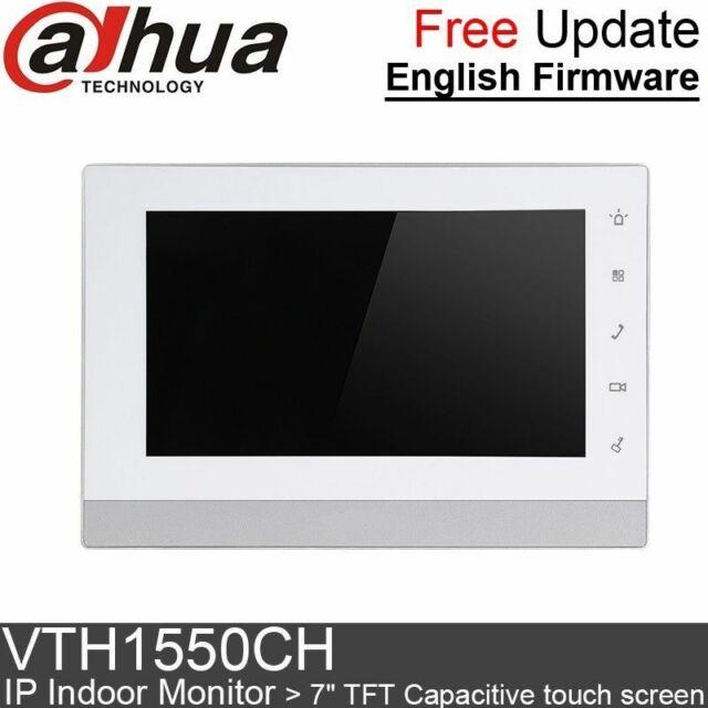 Dahua VTH1550CH POE Color Capacitive Touch Indoor Monitor Screen Video Intercom