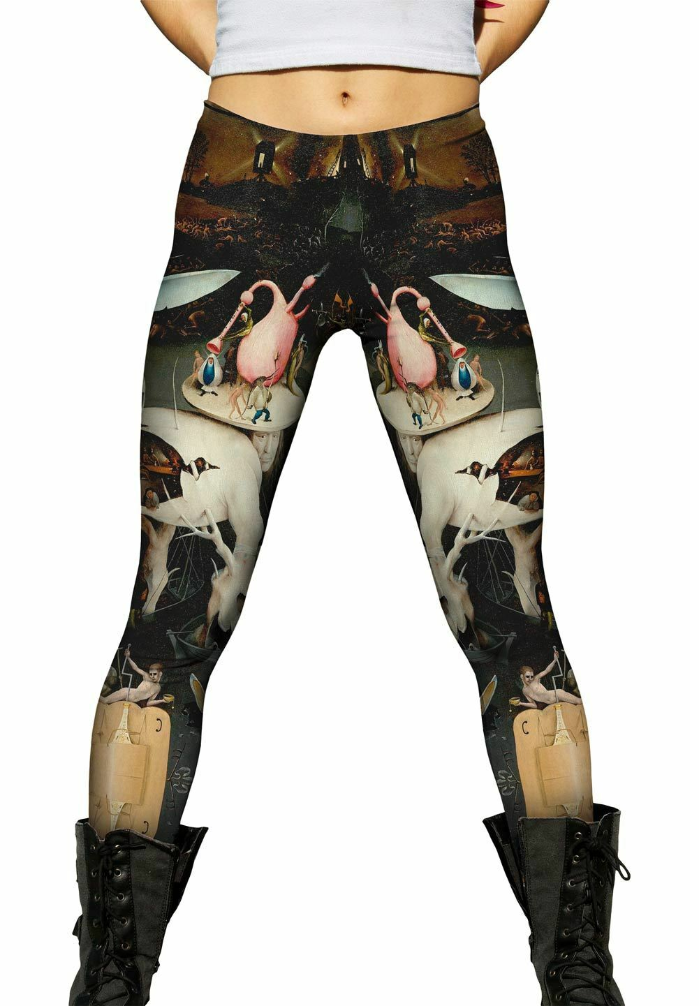 Yizzam - Bosch -  The Garde of Earthly Delights, 06 - New Ladies Womens Leggings