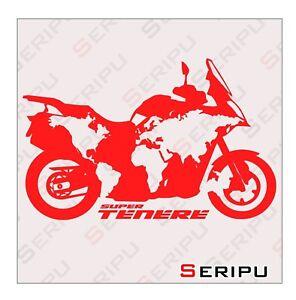 Detalles de X1 PEGATINAS MONSTER PROTECTOR STICKERS MOTO VINILO TUNING ADESIVO DECAL