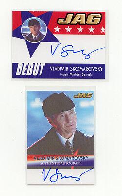 2006 JAG VLADIMIR SKOMAROVSKY A27 AUTOGRAPH CARD