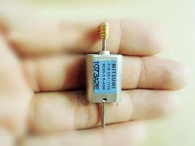 4pcs Japanese miniature DC motors Iron cover Brush 12V-24V biaxial 030 Motor