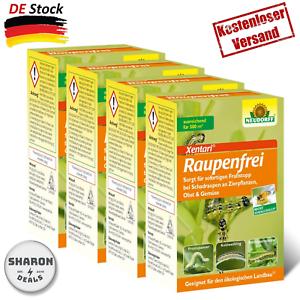 Neudorff-Raupenfrei-Xentari-100G-Gegen-Buchsbaumzuensler-An-Buchsbaeumen-Neu-Produ
